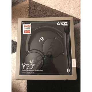 AKG Y50 Bluetooth Headphone.