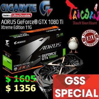 Gigabyte AORUS GTX 1080 Ti Xtreme Edition 11G GeForce®.., ( Till.. 30 June 2018 Offer  Ends...)