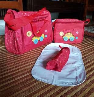 Baby bag 4 in 1