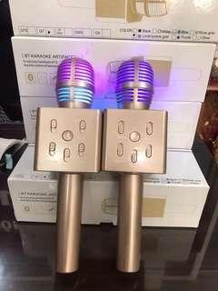 Mic Karoke Q7 Lampu