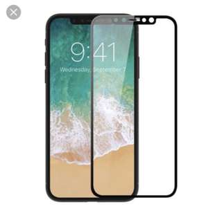 Full cover tempered glass for iPhone X