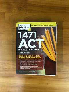 🚚 The Princeton Review ACT Practice Questions