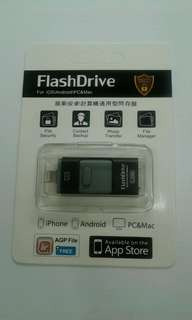 32GB OTG flash drive (for all iphones and Android devices)