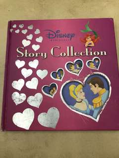 Disney princess story collection (156 pages)
