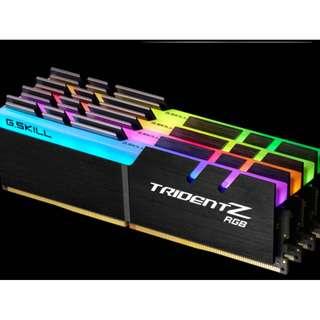 Trident Z RGB 3200mhz 32GB (4x8GB) DDR4 DRAM