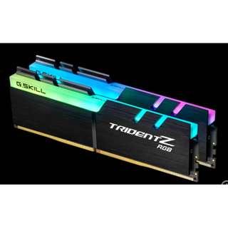 Trident Z RGB 3200mhz 16GB (2x8GB) DDR4 DRAM