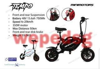TEMPO by minimotor escooter