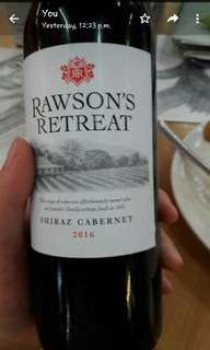 Rawson retreat Red wine