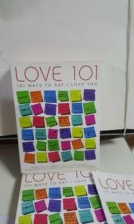6cd English Love 101