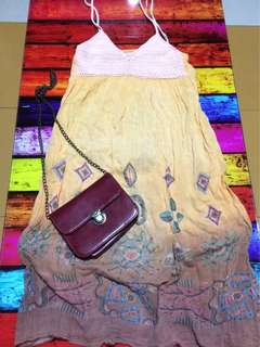 bohemian dress 👗