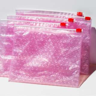 Glossier Pink Pouches