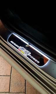 Honda Airwave - Customised running LED door sills