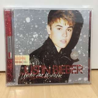 MISTLETOE ALBUM / CD JUSTIN BIEBER ORIGINAL