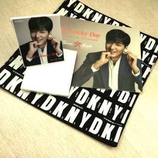 Korea Seven Luck 韓星李敏鎬藏品套裝 (滑鼠墊及坐枱鏡) Gift set (Mouse pad & mirror)