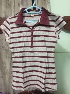 American Rag Striped Polo Shirt