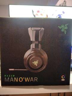 Razer MAN O' WAR  Wireless headset ( Original)