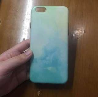 blue casing iphone 6/6s
