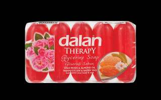 5pcs Dalan therapy glycerine soap (Thyme & Lavender, Almond & Wild Roses)