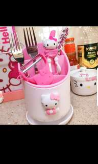 Hello Kitty Cultery Holder