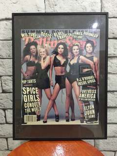 Rolling Stones - Spice girls magazine cover