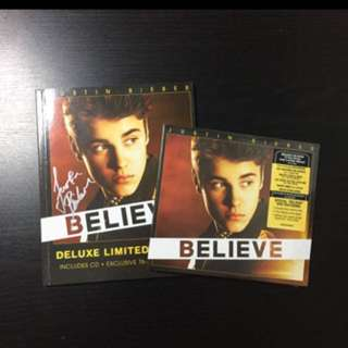 [WTS] Justin Beiber BELIEVE Deluxe album and deluxe limited edition