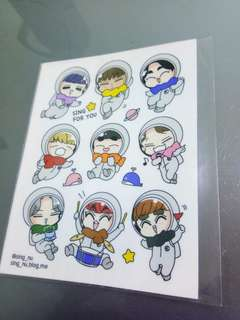 EXO SING FOR U FANART STICKER BY SINGNU