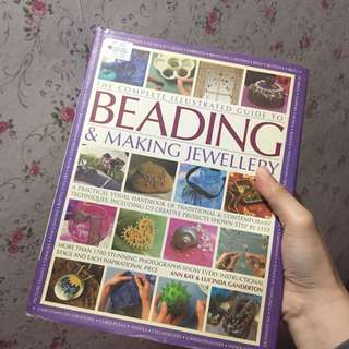 Beading and making jewellery