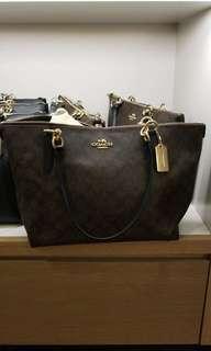 COACH BAG brown classic design