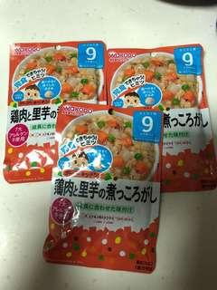 🚚 Wakodo baby food 9 months - simmered chicken & taro