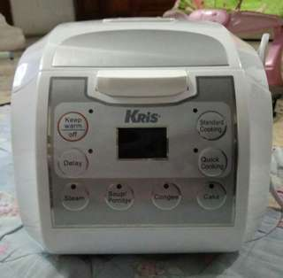 Rice cooker digital kris