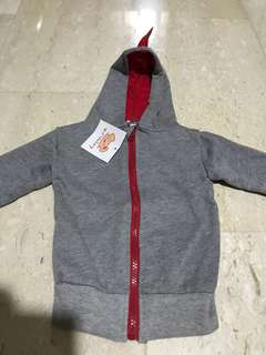 Brand new grey baby Jacket (size 80)