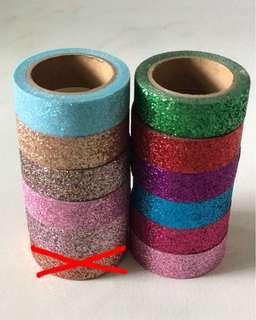 Glitter Tapes