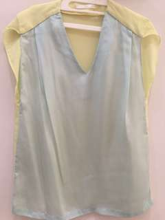 Blue Sky Blouse Fit to L