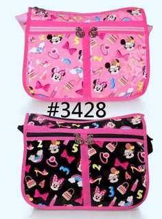 #3428 Minnie 斜揹袋 - $109