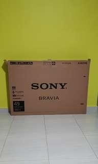 """SONY Bravia 49"""" TV Box"""