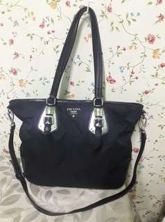 Authentic Prada Two-Way Bag