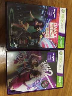 Dance Central 1 and 2