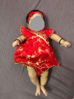 Baby girl chinese new year