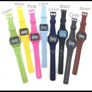 Casio Vintage Color Rubber Unisex Watch