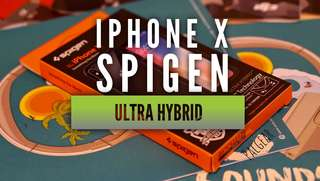 iPhone X Premium Case Spigen Ultra Hybrid Matte Black