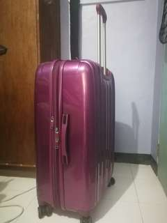 Original Violet hardcase Samsonite luggage