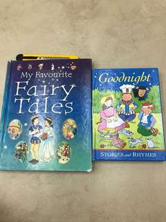 Fairy tales & Goodnight set of 2 hardcover