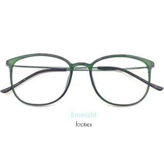 foptics Eyewear - Prescription Glasses - Eagle in Emerald