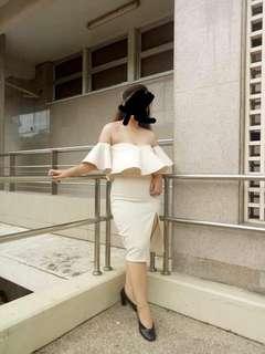 Heather Clothing Off-Shoulder Dress