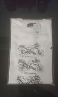 Official Honda NSR250 KV3 30 year anniversary t-shirt pgm4