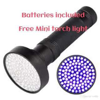 100 LED UV Ultraviolet Torchlight