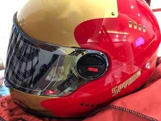 Spyder Ironman helmet