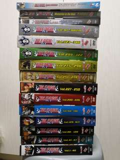 BLEACH DVD BOX 1-12 + 3 MOVIES