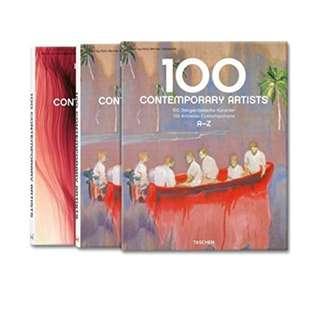 🚚 100 Contemporary Artists (Taschen 25 Anniversary) [Hardcover]