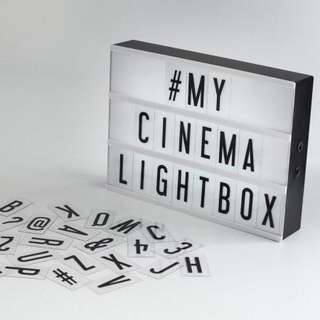 Letter Light Box with Letter Pack Set